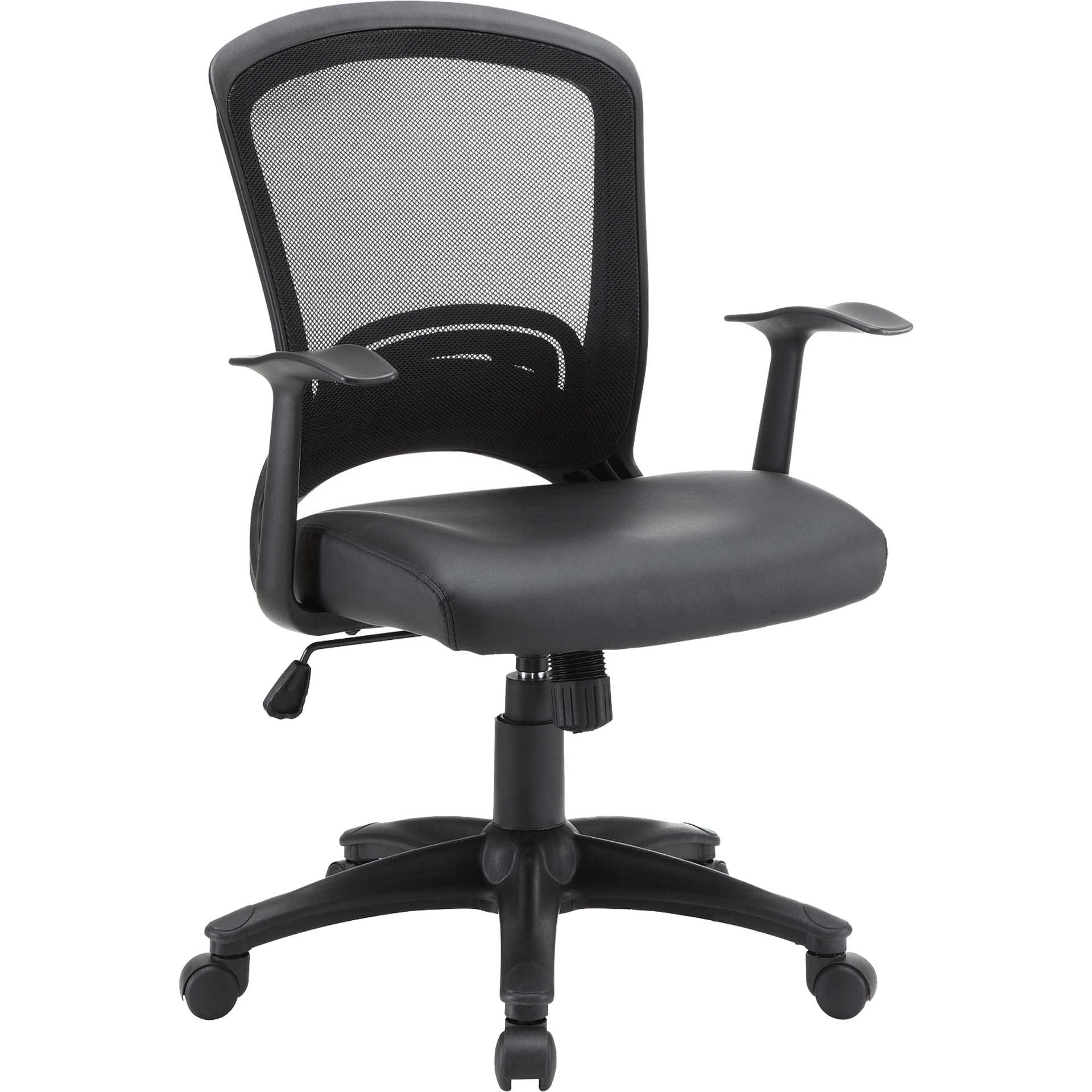 Partridge Vinyl Office Office Chair Black
