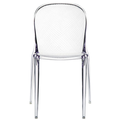 Scope Side Chair Clear