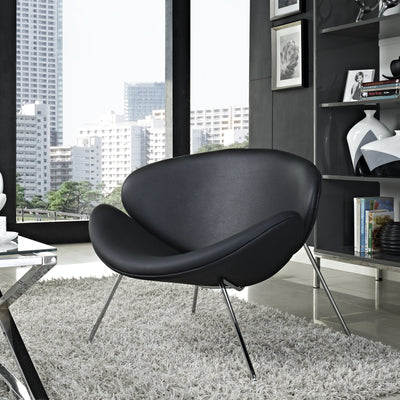 Nora Lounge Chair Black
