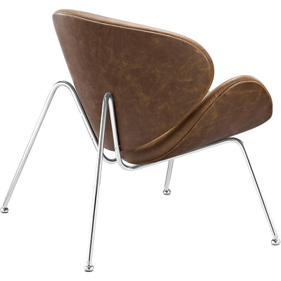 Nora Lounge Chair Brown