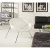 Nora Lounge Chair White