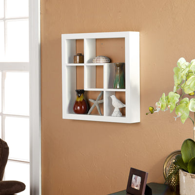 Matthews Display Shelf White