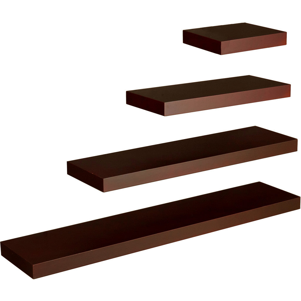 Cannes Floating Shelf Chocolate