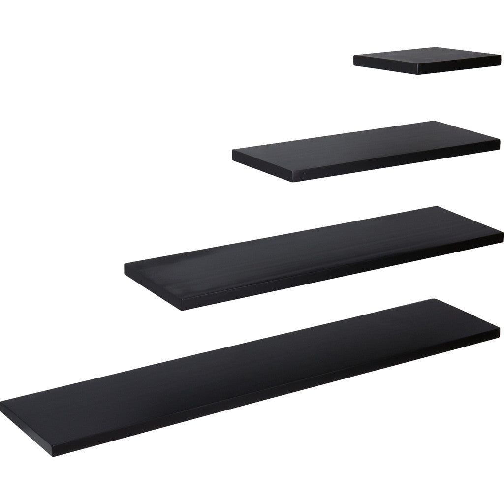 Aslan Floating Shelf Black