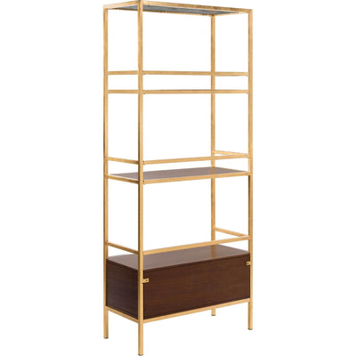 Malaya 4 Tier 1 Drawer Etagere