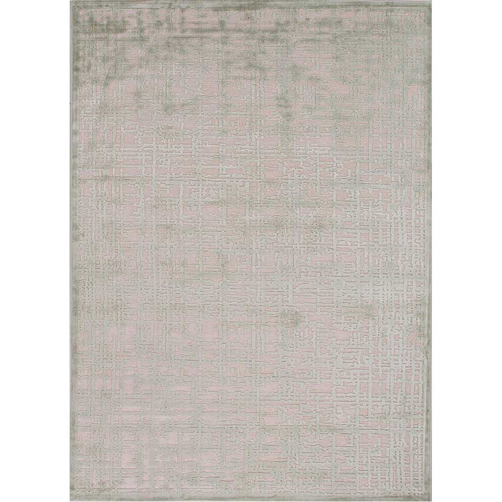 Fables Dreamy Light Gray/Milky Green Area Rug