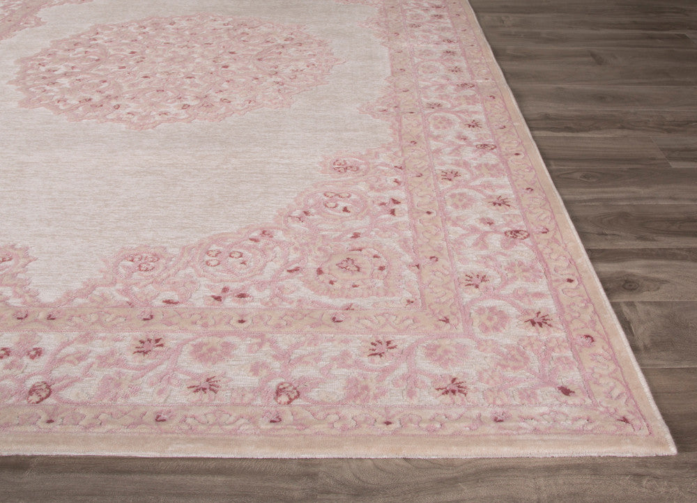 Fables Malo Ivory Pink Area Rug Froy