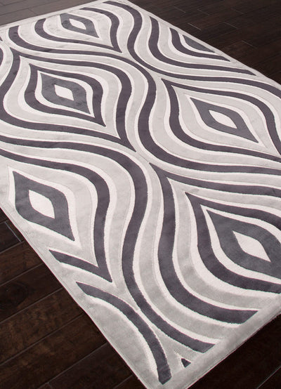 Fables Illusion White Area Rug