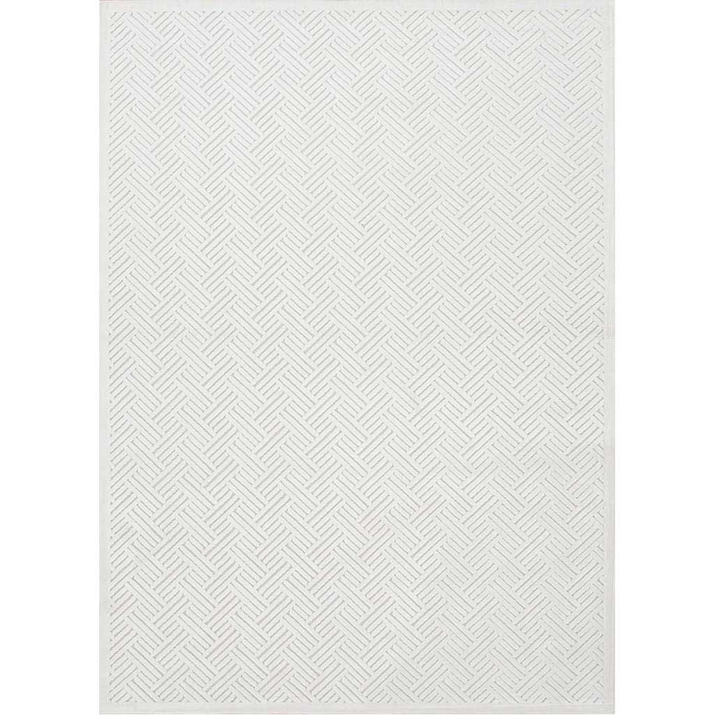Fables Thatch White Area Rug