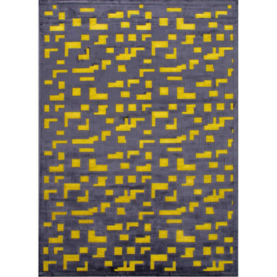 Fables Pixel Green Area Rug
