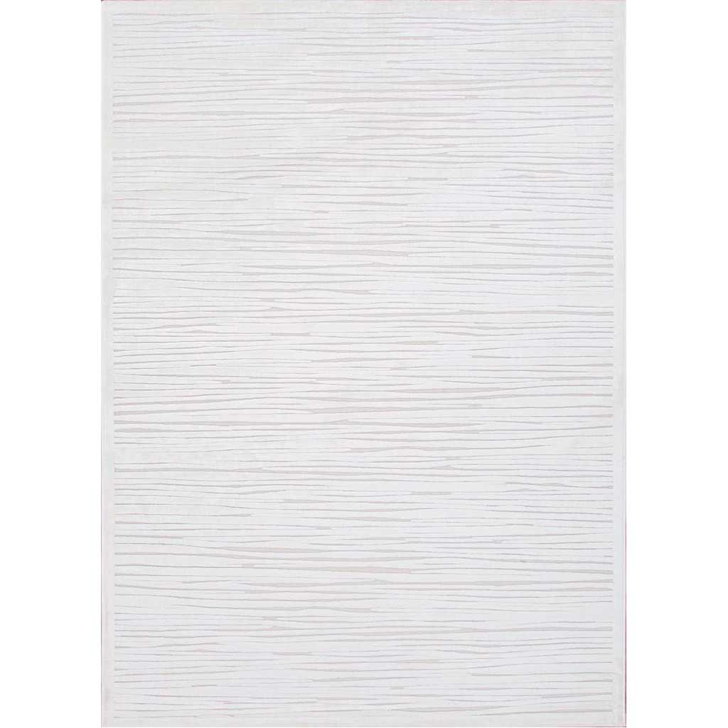 Fables Linea White Area Rug