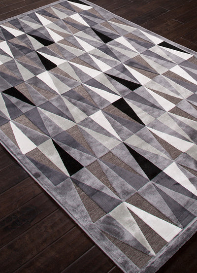 Fables Tria Frost Gray/Mirage Gray Area Rug