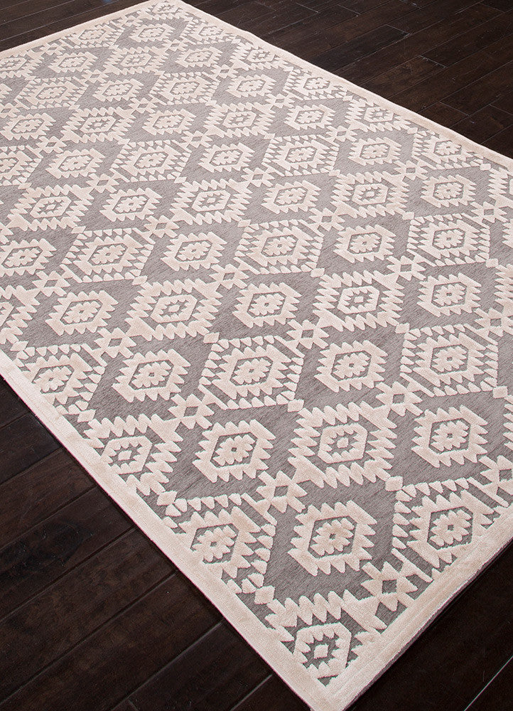 Fables Magical Monument/Light Gray Area Rug