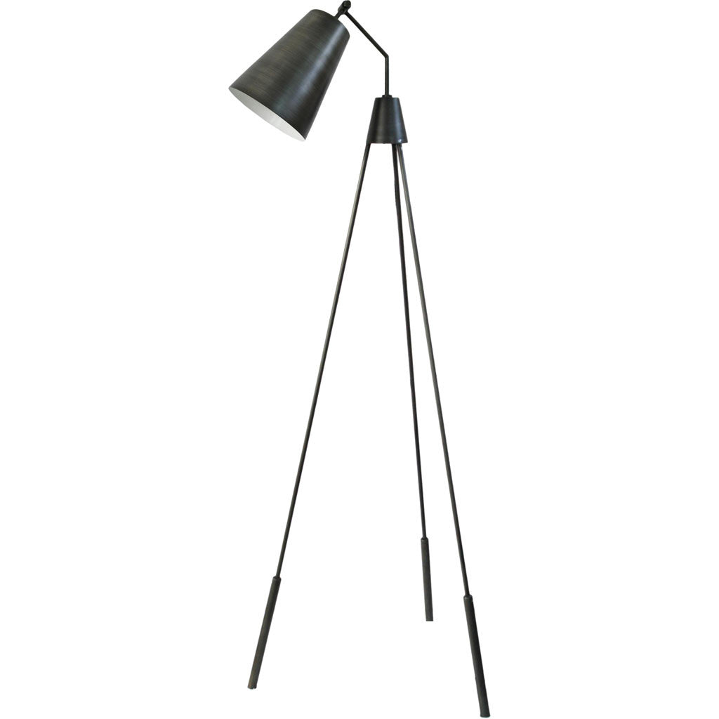 Asher Floor Lamp Silver