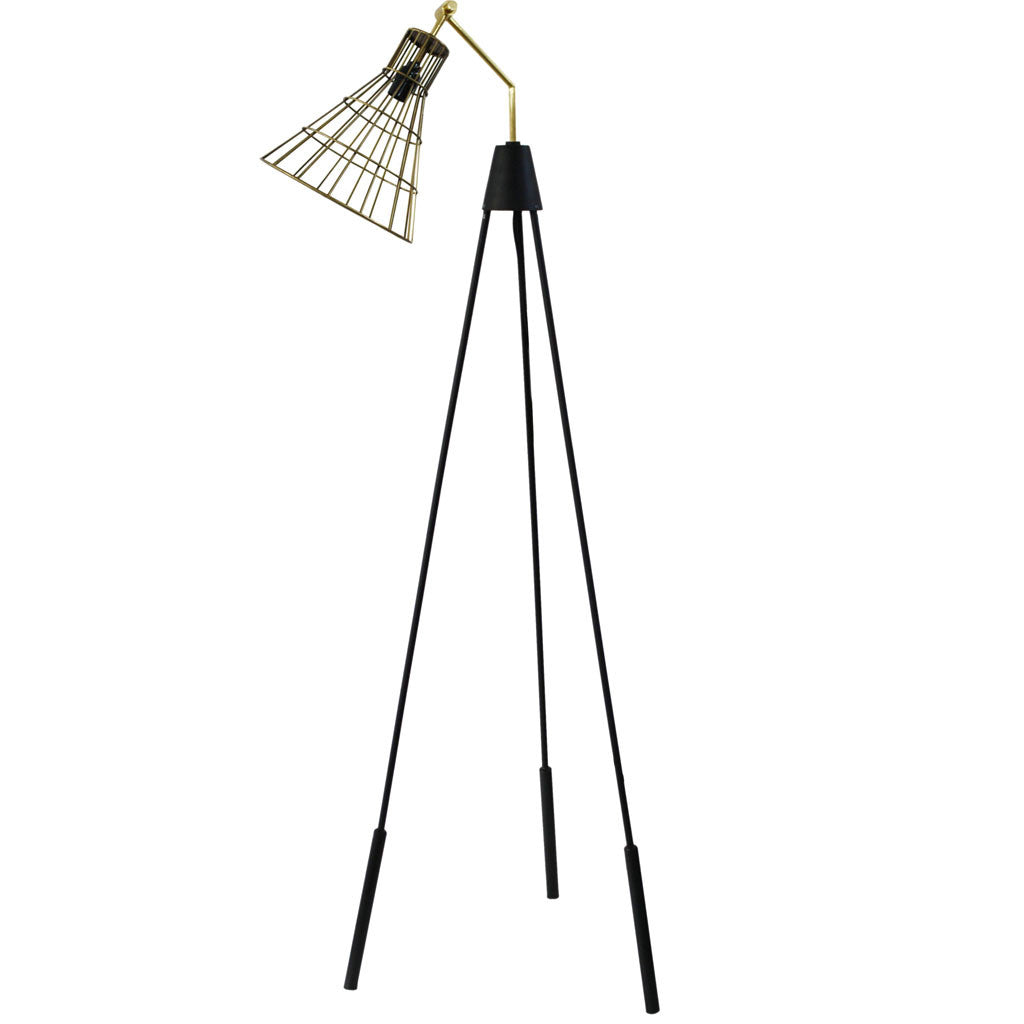 Andreas Floor Lamp Gold