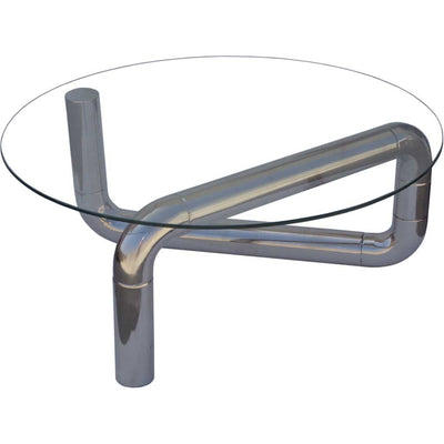 Boase Coffee Table Stainless Steel