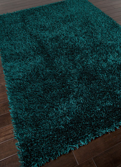 Flux Teal Blue Area Rug