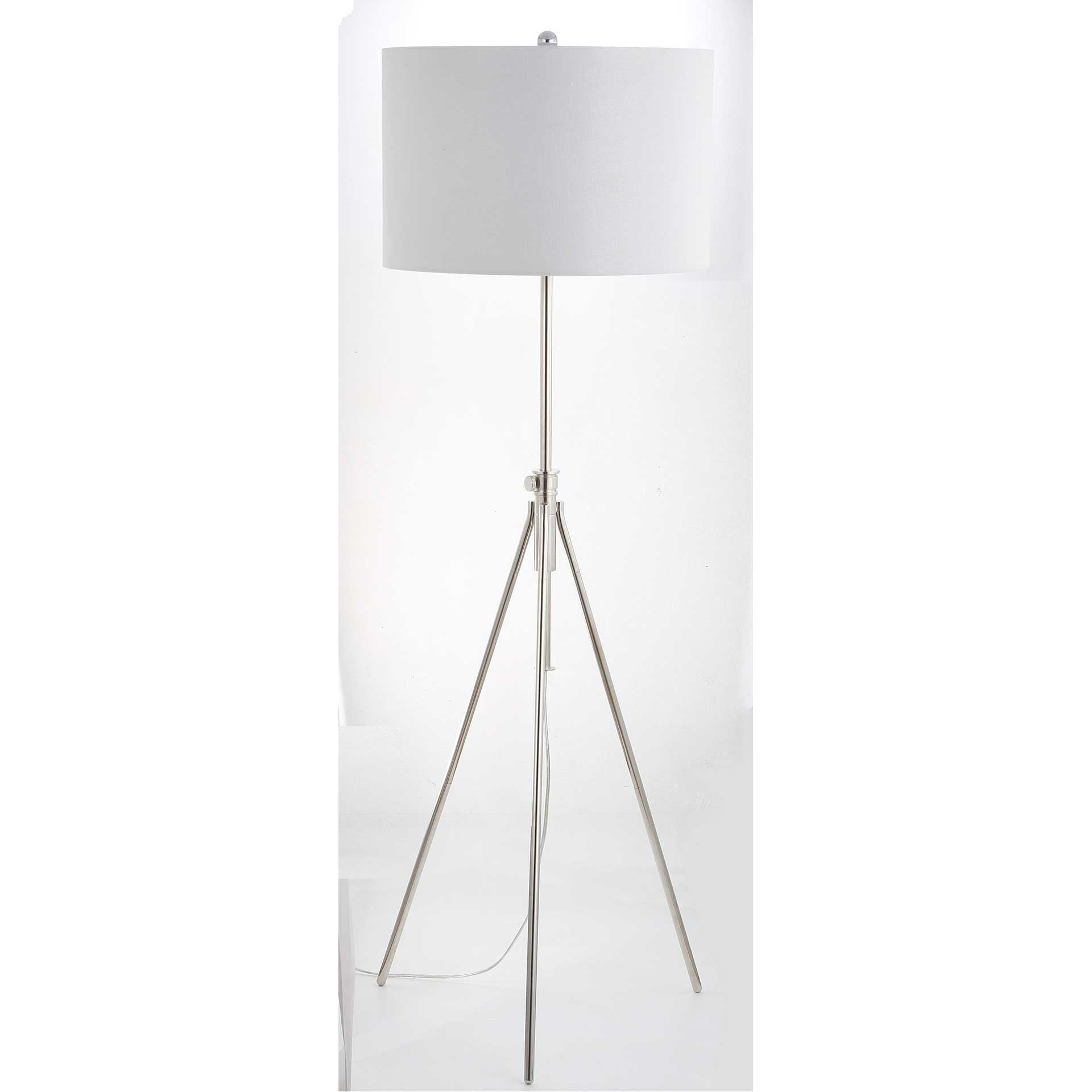 Cillian Floor Lamp Nickel
