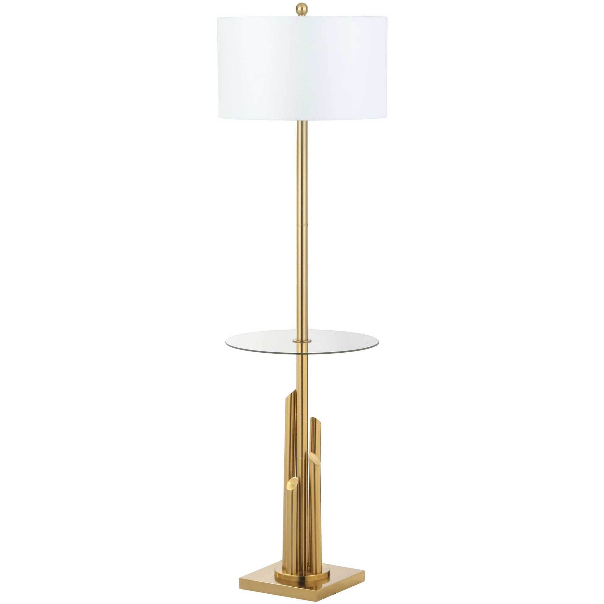 Amiya Floor Lamp Side Table