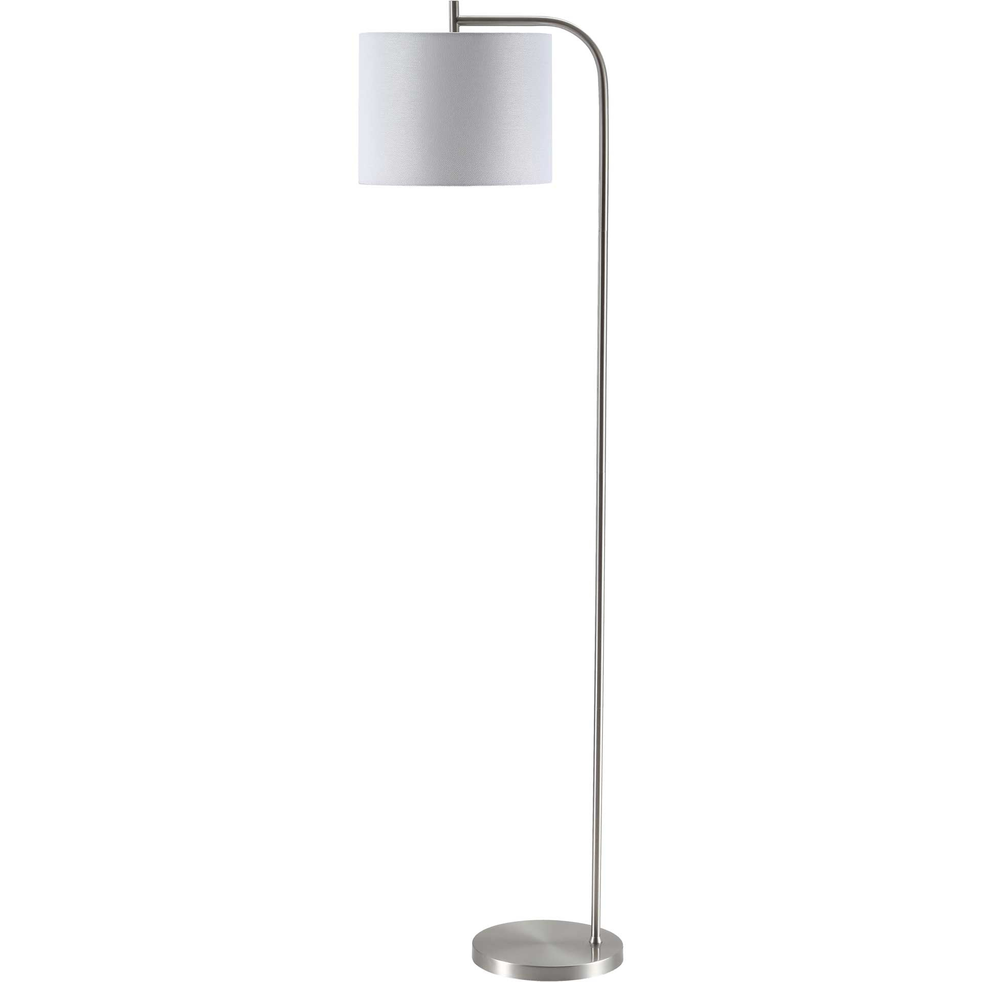 Raelyn Floor Lamp Nickel