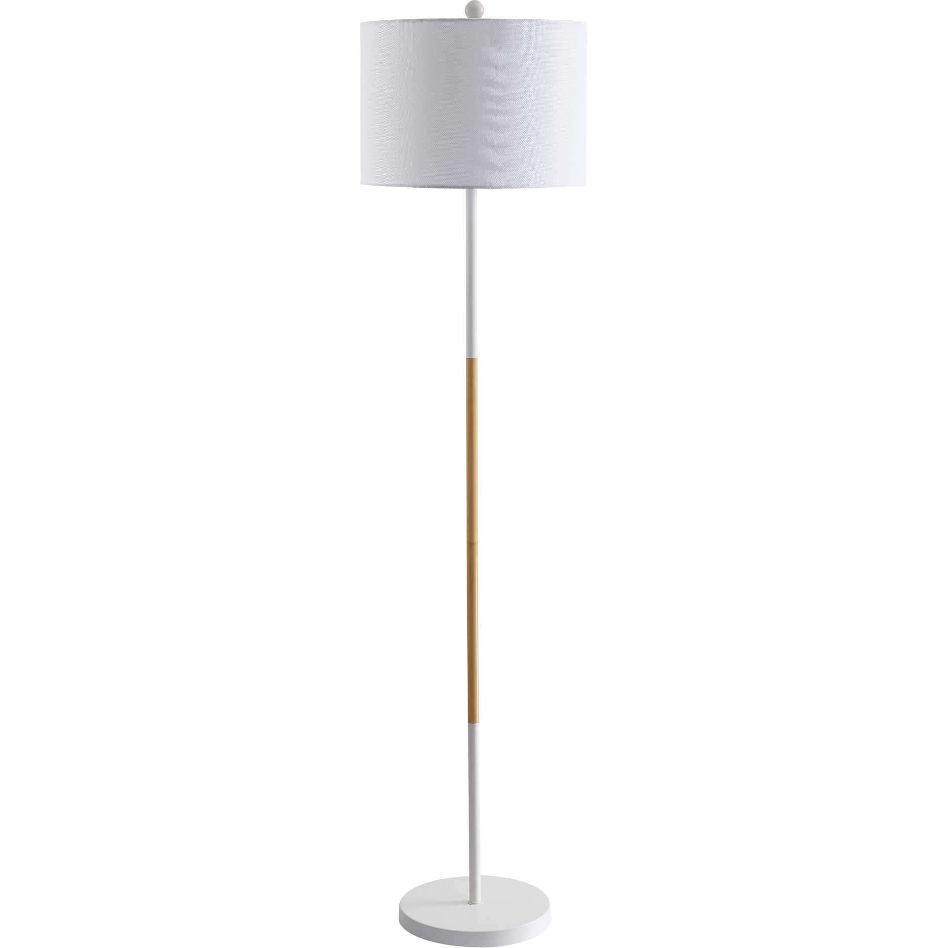 Medora Floor Lamp White