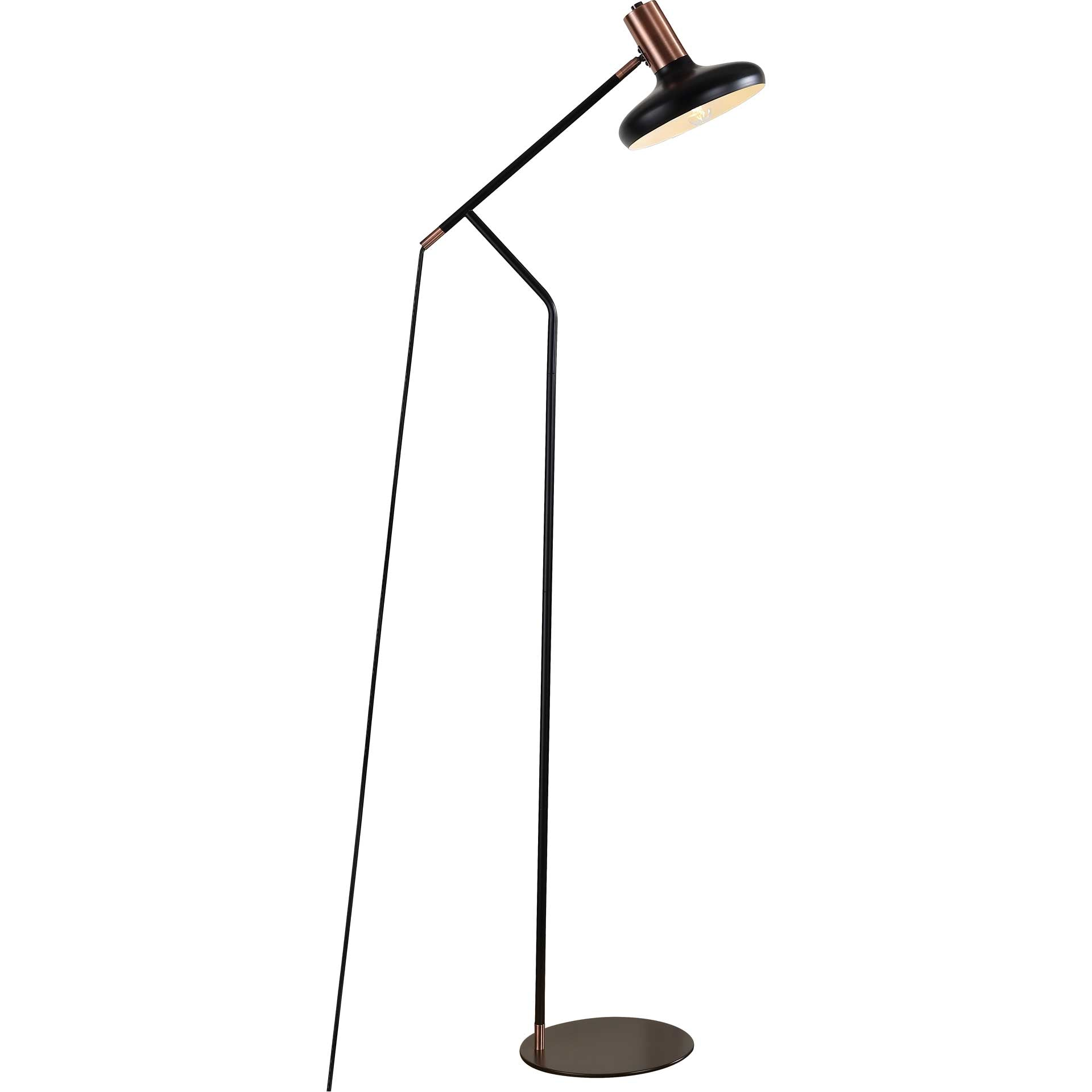 Amour Floor Lamp Black/Antique Copper