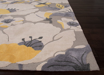 Flora Shoot Satellite/Wet Weather Area Rug