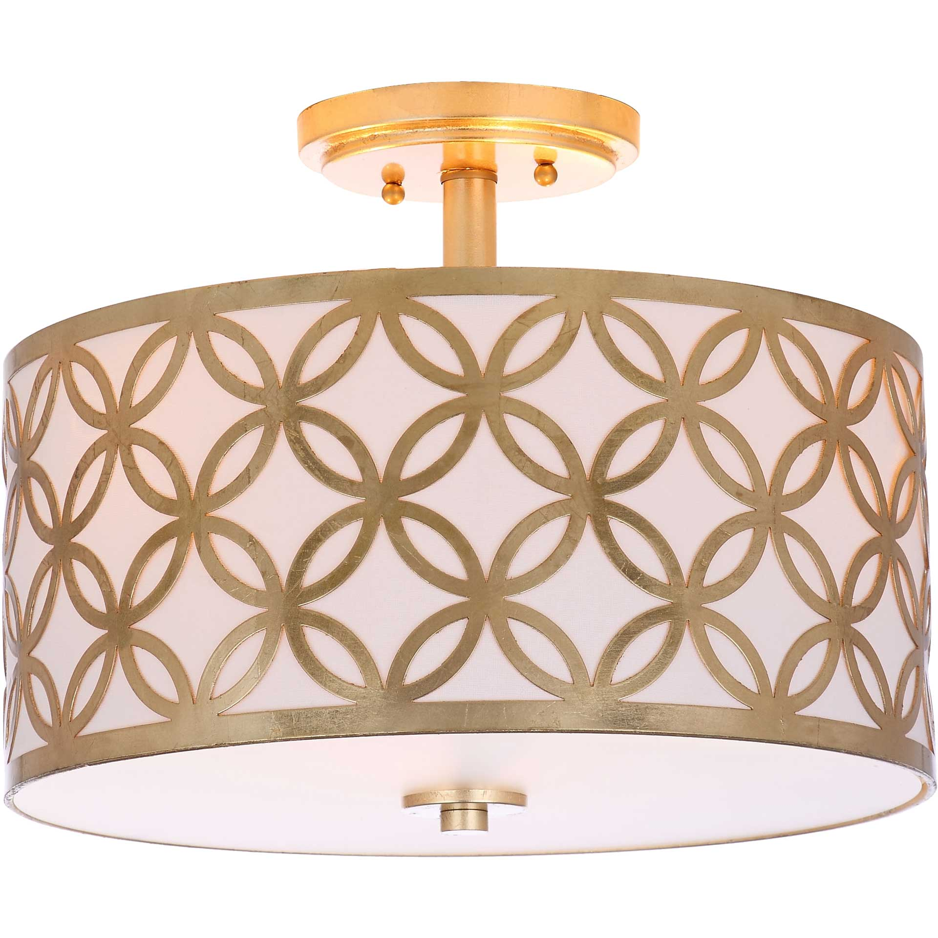 Celine Gold Flush Mount Gold