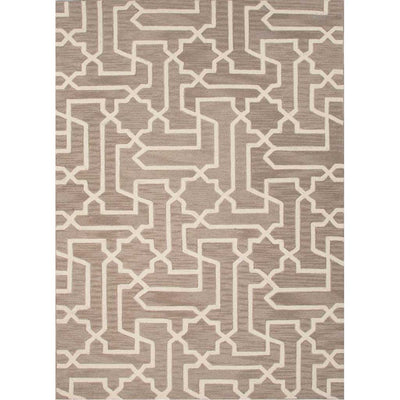 Fusion Linx Simply Taupe/Antique White Area Rug