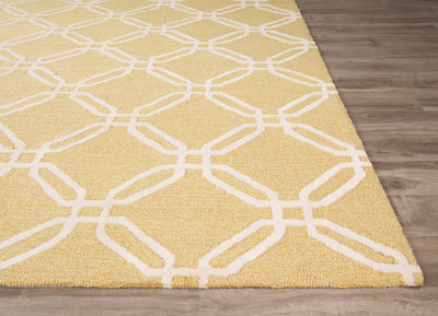 Fusion Duran Yellow/Ivory Area Rug