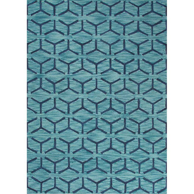 Fusion Thorton Blue Area Rug