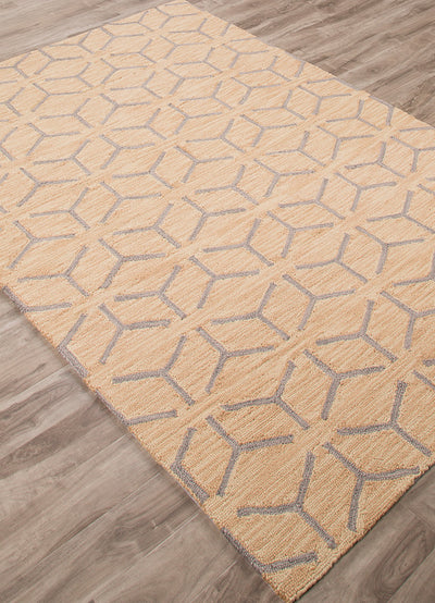 Fusion Thorton Yellow/Beige Area Rug