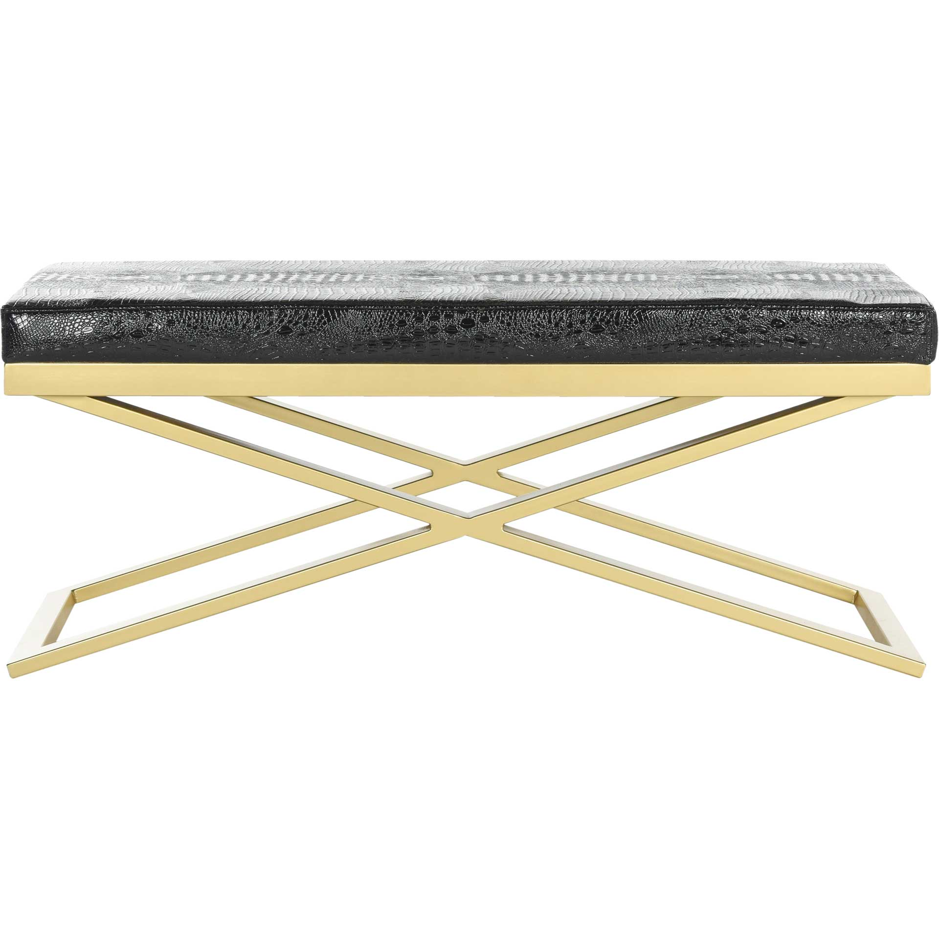Achilles Bench Black/Gold