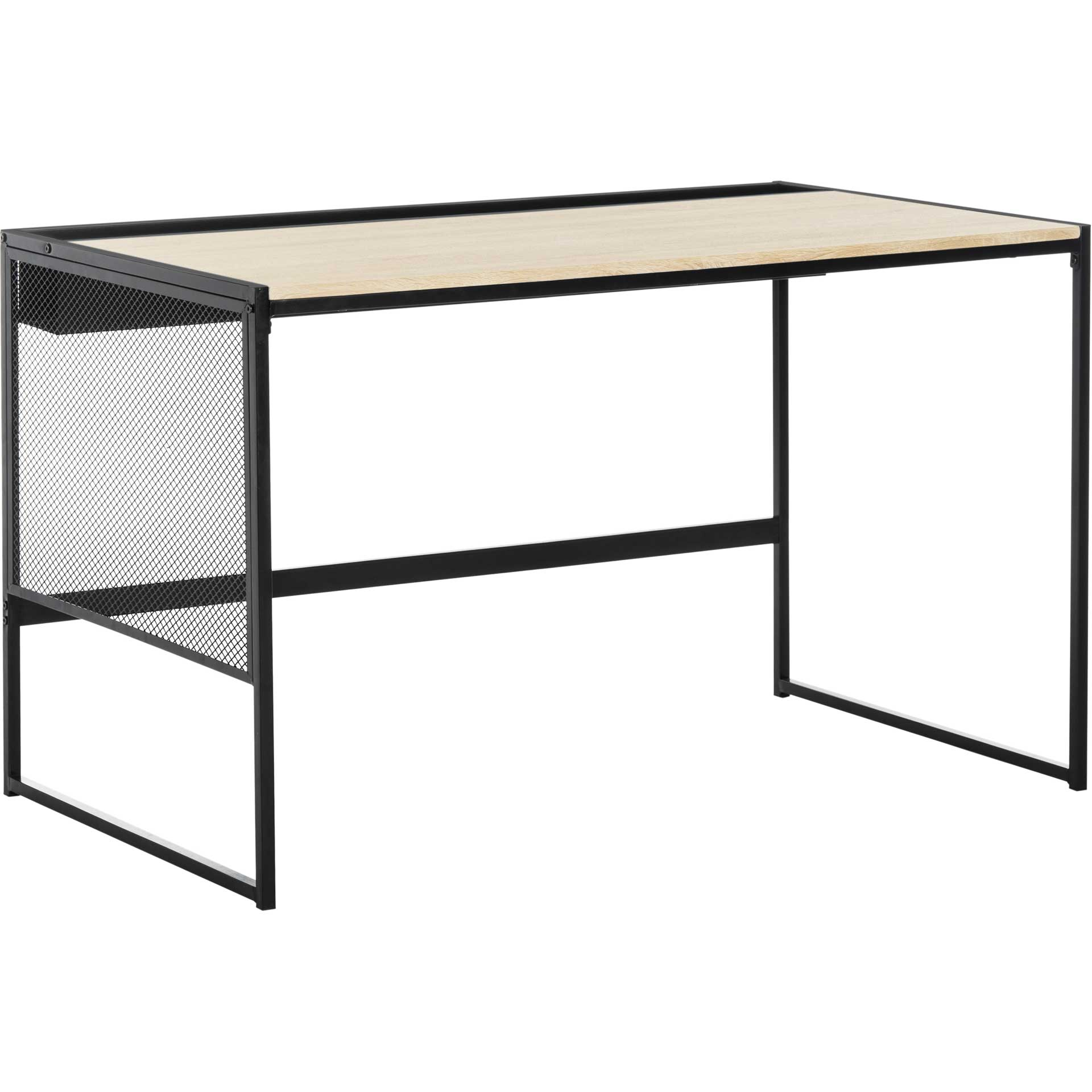 Aaden Writing Desk Black