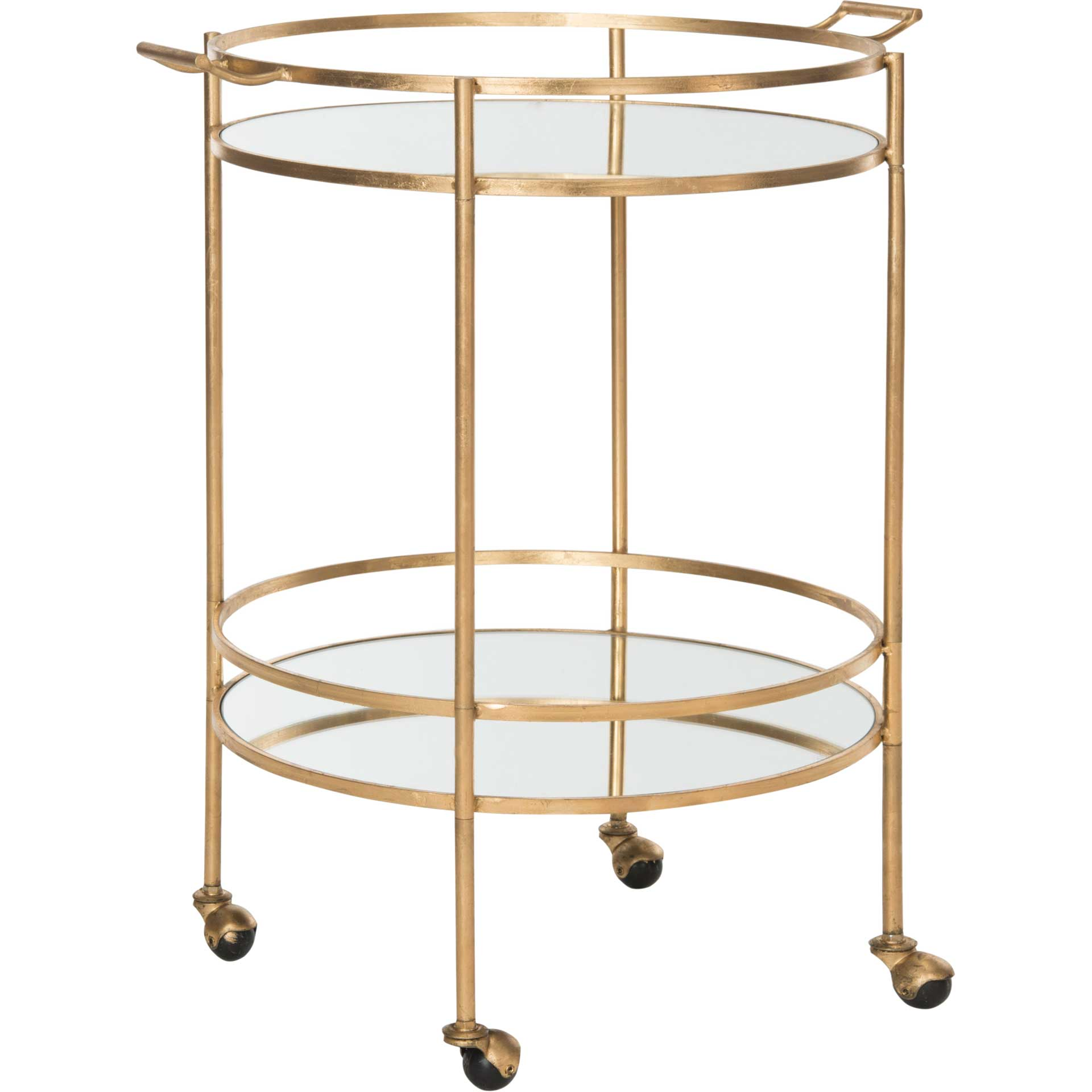 Lance Bar Cart Gold