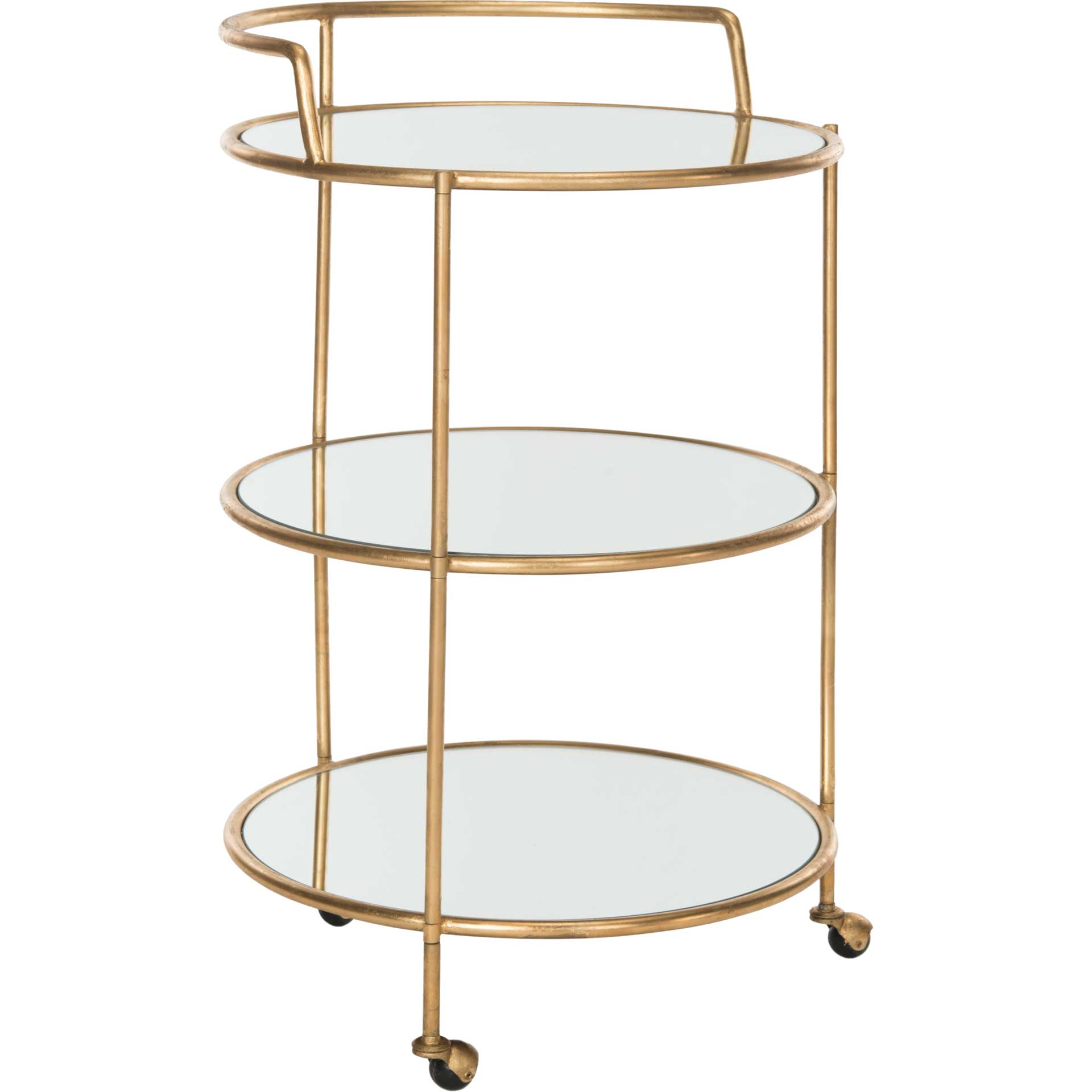 Dungeon Bar Cart Gold