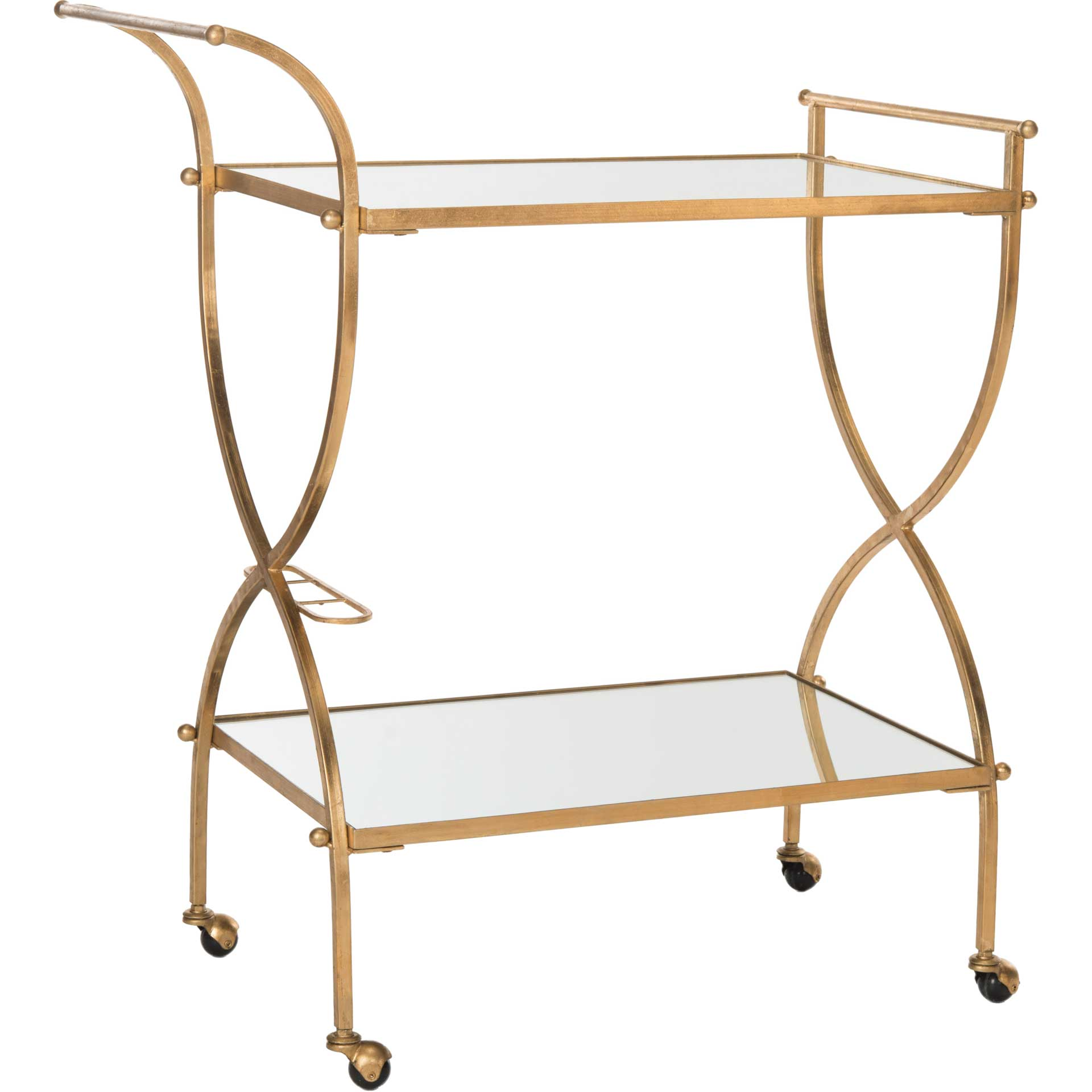 Lucca Bar Cart Gold