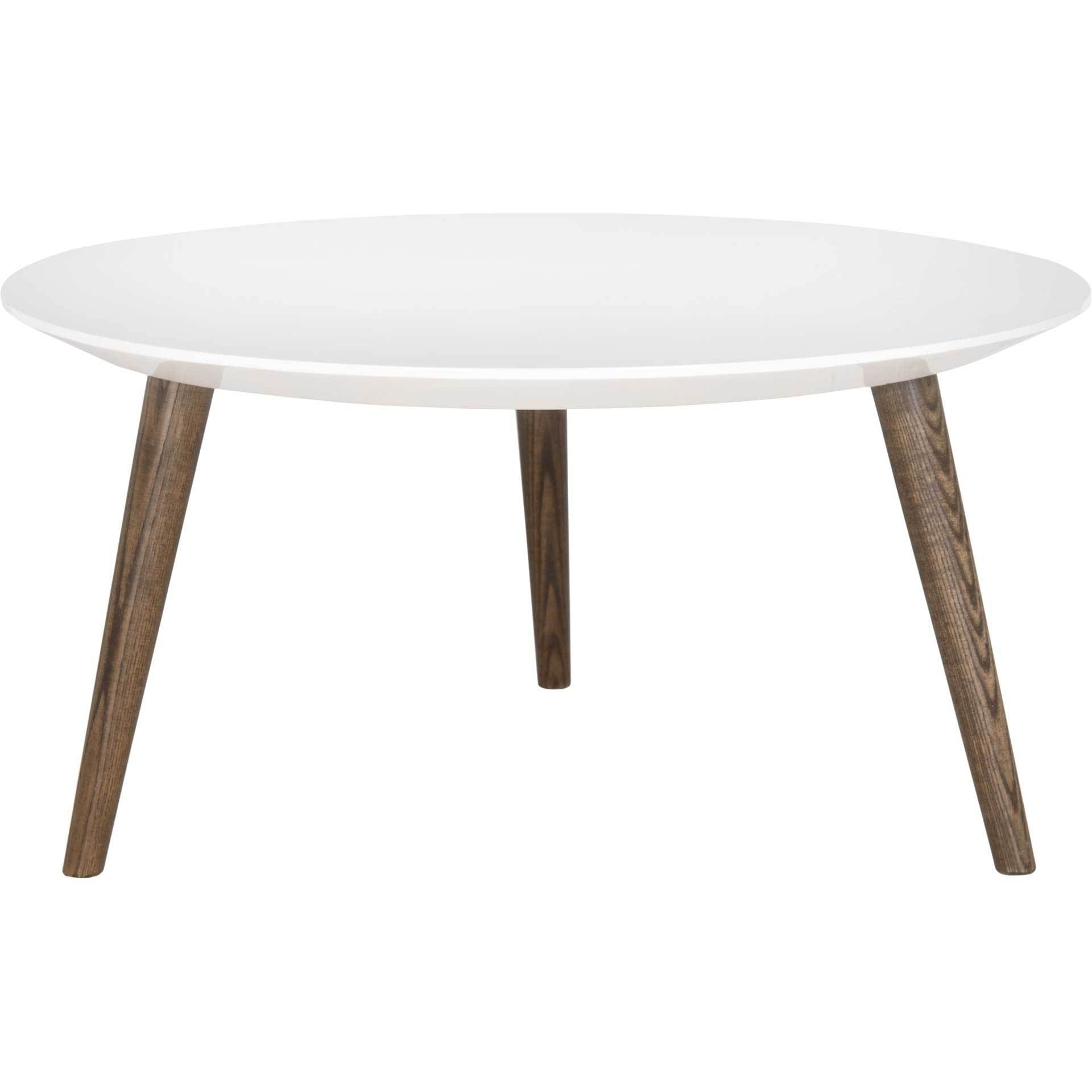 Jocelyn Round Lacquer Accent Table
