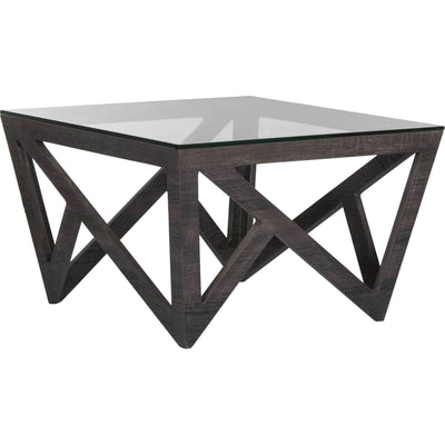 Raina Glass Top Coffee Table
