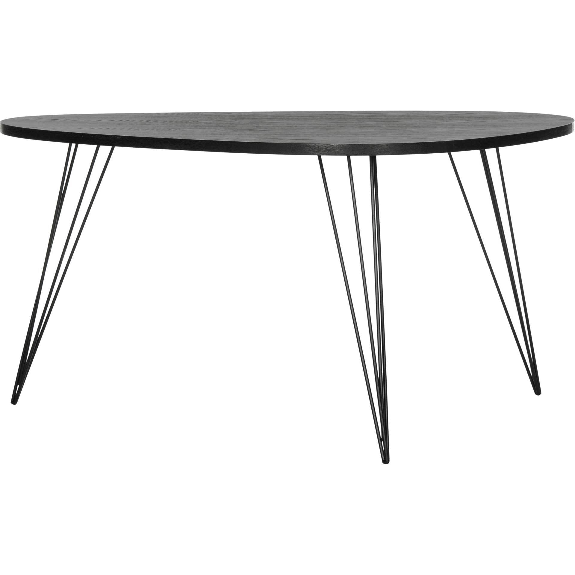 Ross Wood Coffee Table Black