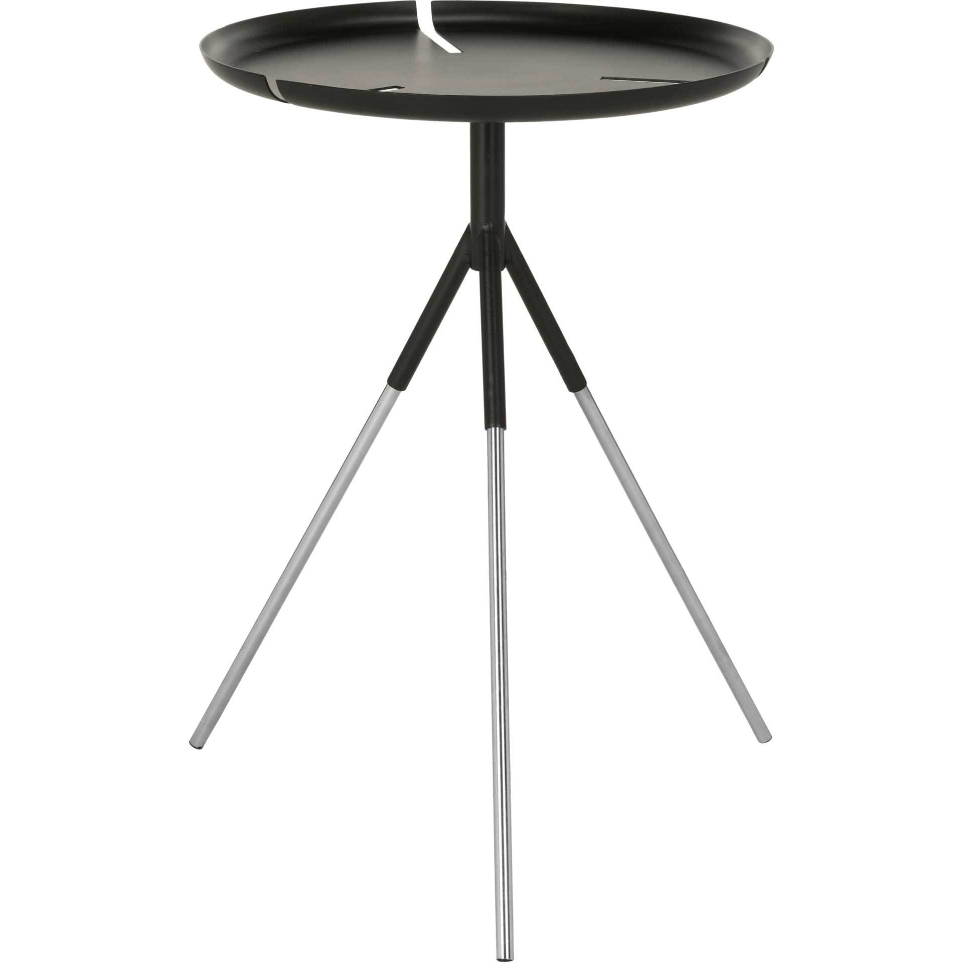 Larissa Tri Leg Contemporary Glam Side Table