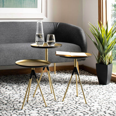 Taryn Metal Side Table (Set of 3)