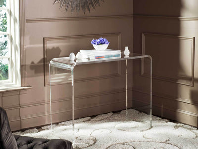 Atticus Acrylic Console Table