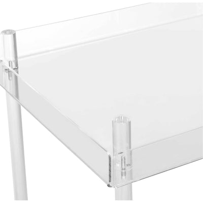 Heath Acrylic Kitchen Cart