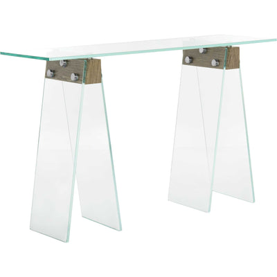 Glass Loft Console Table