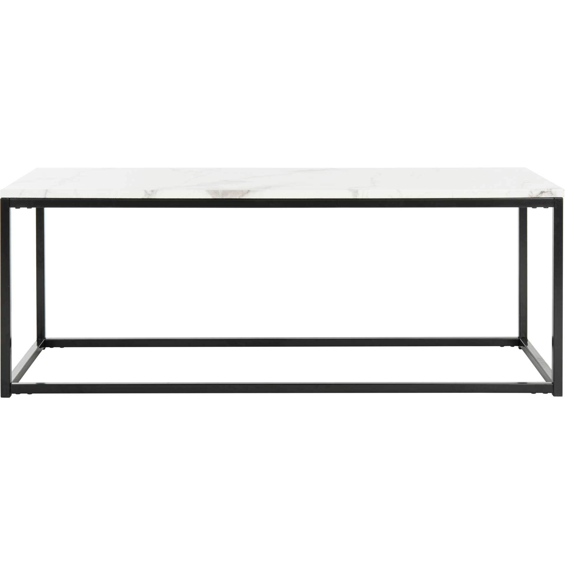 Barbara Coffee Table White/Gray