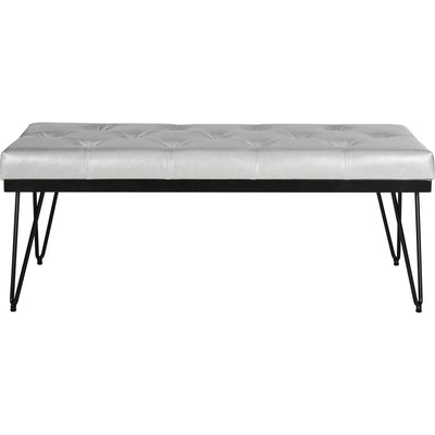 Maxim Bench Gray/Black
