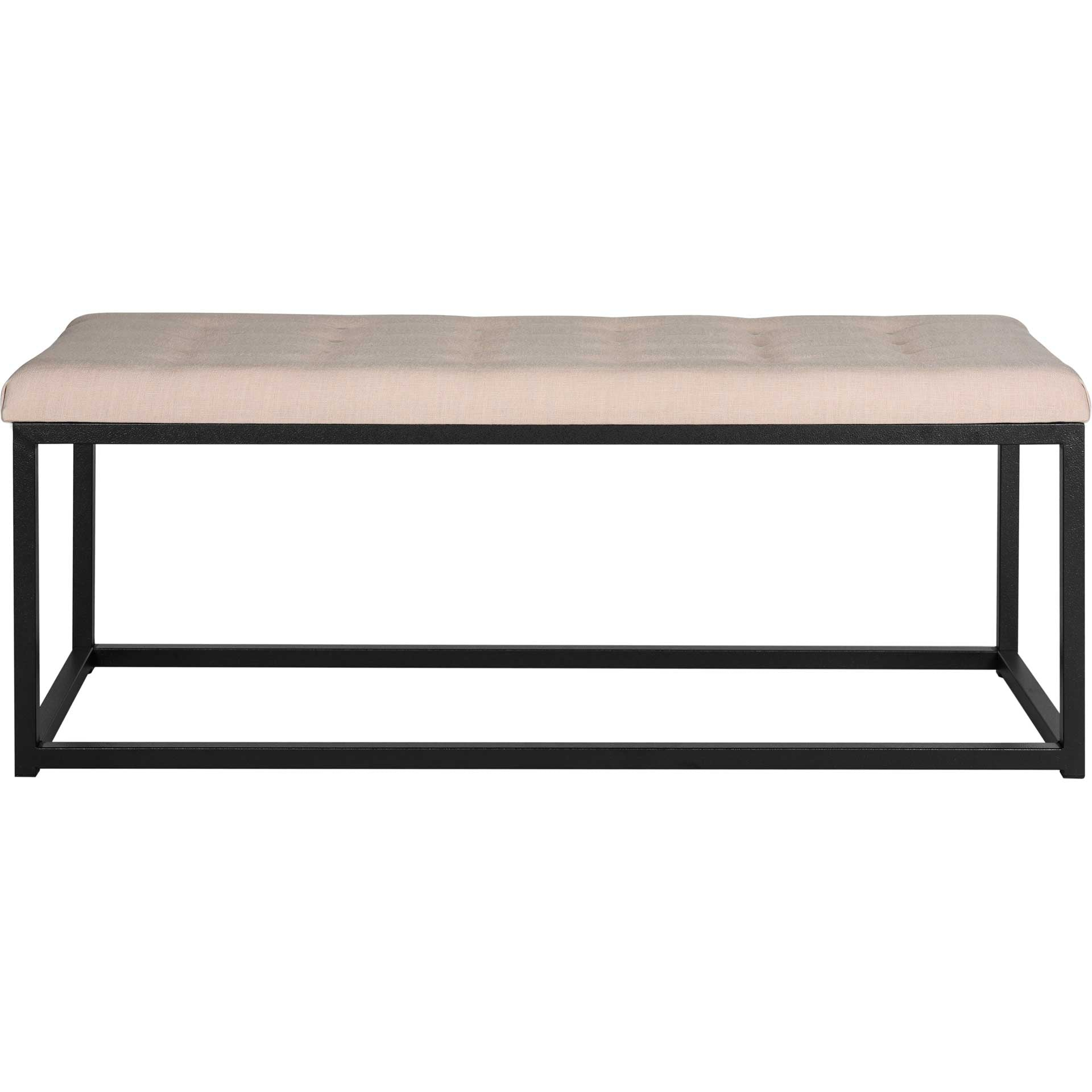 Reynolds Bench Beige/Black