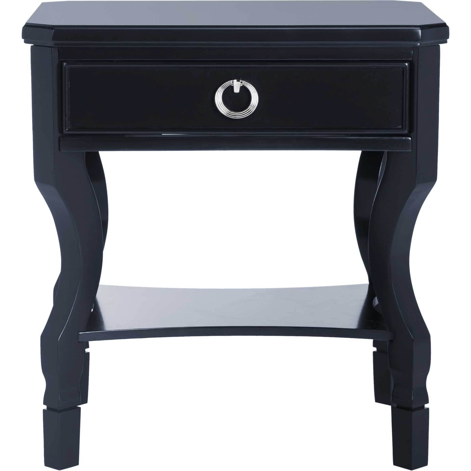 Albert One Drawer Nightstand Navy