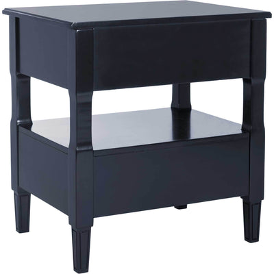 Jenna Two Drawer Nightstand Navy